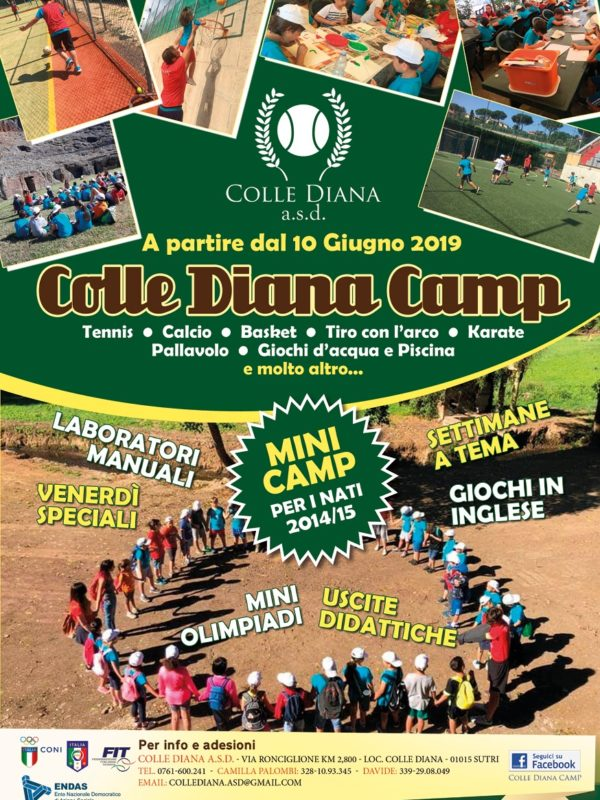 Colle Diana Camp 2019