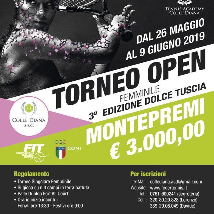 TORNEO OPEN – 3a Edizione Dolce Tuscia