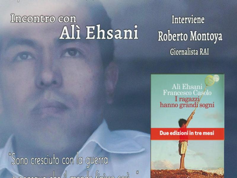 """Incontro con Alì Ehsani al """"Caffe Letterario di Colle Diana"""""""
